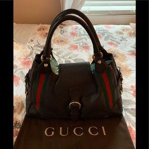 Gucci Heritage Web Shoulder Leather Medium